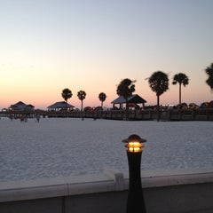 Photo taken at Clearwater Beach Pier by Fabulouz S. on 9/24/2012