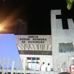Photo taken at Igreja Nossa Senhora da Assunção by Mauricio Reis Matos on 4/20/2013