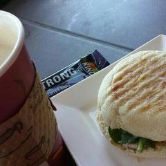 Photo taken at Richmond Beach Coffee House by Estella N. on 7/28/2015