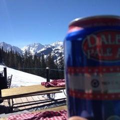 Photo taken at Cloud Nine Alpine Bistro by zach g. on 3/16/2014