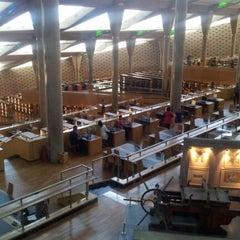 Photo taken at Bibliotheca Alexandrina | مكتبة الإسكندرية by Syed Q. on 9/19/2012