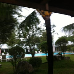 Photo taken at Jamont Pool Area by Aileen T. on 1/11/2013