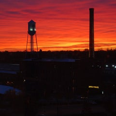 Photo taken at American Tobacco Campus by Tyler P. on 11/17/2012