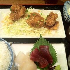 Photo taken at 四季食楽 三地屋 カレッタ汐留店 by とめ on 8/8/2013