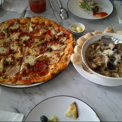 Photo taken at Pizza Express by Gie A. on 2/8/2013