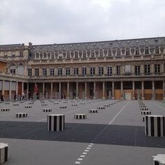 Photo taken at Palais Royal by Vildan Y. on 4/26/2013