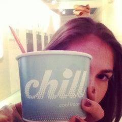 Photo taken at Chill Frozen Yogurt by Elana W. on 2/27/2014