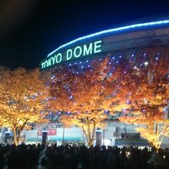 Photo taken at 東京ドーム (Tokyo Dome) by Takefumi M. on 11/21/2013