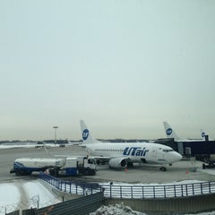 Photo taken at Международный аэропорт Ханты-Мансийск / Khanty-Mansiysk International Airport (HMA) by Альбина К. on 3/23/2013