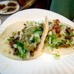 Photo taken at Tacos El Korita by Eater on 7/10/2014