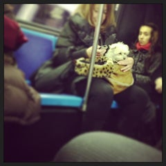 Photo taken at MTA Bus - 7 Av & W 57 St (M/31M57/X12/X14/X30/X42) by Chuck A. on 1/17/2013