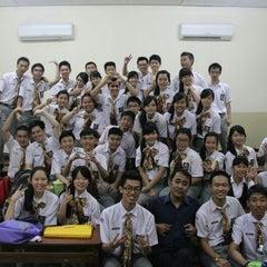 Photo taken at SMA Methodist 3 Medan by Cynthia V. on 5/7/2013