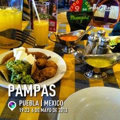 Photo taken at Mr. Pampas Puebla by H on 5/7/2013