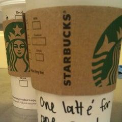 Photo taken at Starbucks by April P. on 2/23/2013
