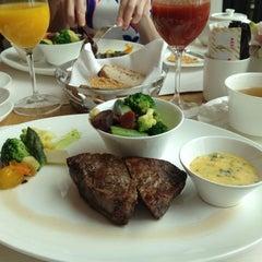 Photo taken at Dolder Grand Garden Restaurant by Vera K. on 5/12/2013