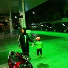 Photo taken at SPBU Petronas by S R. on 10/7/2012