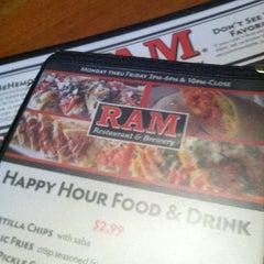 Photo taken at RAM Restaurant & Brewery by Jose on 9/19/2012