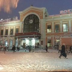 Photo taken at Савеловский вокзал / Savyolovsky Rail Terminal by Иван В. on 3/15/2013