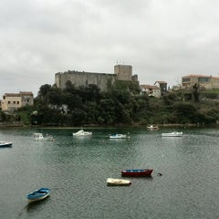 Photo taken at San Vicente de la Barquera by Carolina L. on 4/3/2015