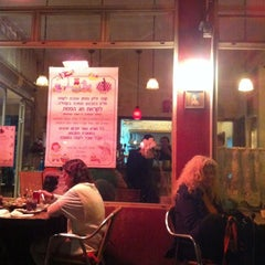 Photo taken at קפה זליק Cafe Zelik by Yaniv on 3/26/2013
