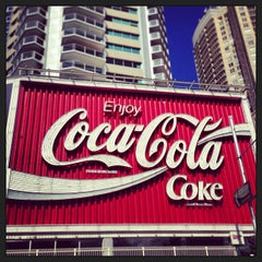 Photo taken at The Coca-Cola Billboard by Syed Rehman Shah B. on 3/19/2013