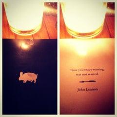 Photo taken at Pub & Kitchen by Julia P. on 1/28/2013