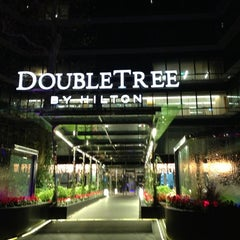 Photo taken at DoubleTree by Hilton Hotel Istanbul - Moda by Orçun on 12/29/2012