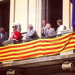 Photo taken at Ajuntament de Les Corts by David on 10/7/2012