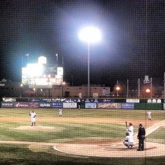 Photo taken at Dozer Park by Clint B. on 4/6/2013