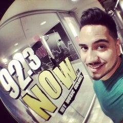 Photo taken at WNOW 92.3 Now FM by DJ YONNY on 8/1/2013