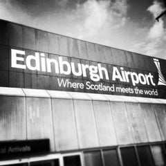 Photo taken at Edinburgh Airport (EDI) by Belle Y. on 6/6/2013