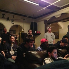 Photo taken at Sigma Alpha Epsilon Fraternity by Marcus A. on 2/14/2013