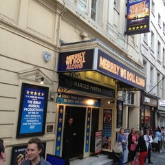Photo taken at Harold Pinter Theatre by Andreea S. on 7/10/2013