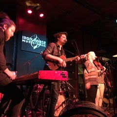 Photo taken at Iron Horse Music Hall by Caitlin T. on 1/25/2015