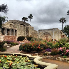 Photo taken at Mission San Juan Capistrano by Joshua O. on 6/24/2013