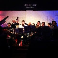 Photo taken at Somethin' Jazz Club by Samia on 1/16/2013