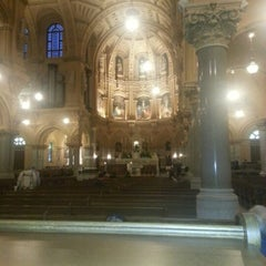 Photo taken at St. Francis Xavier Catholic Church by Claire B. on 11/10/2012