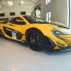 Photo taken at McLaren Beverly Hills by Albert H. on 5/2/2015