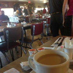 Photo taken at Aunt Martha's Pancake House by Kayla P. on 8/29/2013