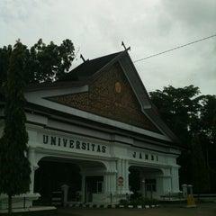 Photo taken at Universitas Jambi (Mendalo) by Oki H. on 12/18/2012