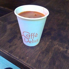 Photo taken at Caffe Delia by Kathy J. on 1/26/2013