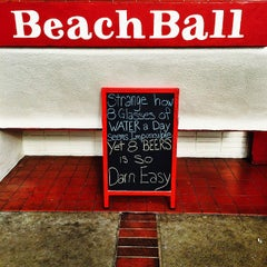 Photo taken at The Beach Ball by Angel S. on 11/13/2014