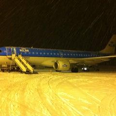 Photo taken at Kristiansand Lufthavn, Kjevik (KRS) by Vincent on 3/16/2013
