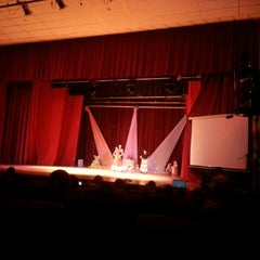 Photo taken at Teatro Municipal de San Lorenzo by Martinez G. on 12/15/2012