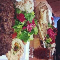 Photo taken at Cafe Falafel by Anne-Sophie on 1/2/2013
