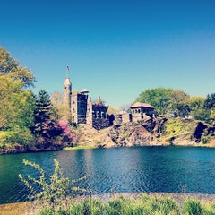 Photo taken at Belvedere Castle by Alissa C. on 5/4/2013