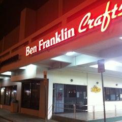Photo taken at Ben Franklin Crafts by Greg on 11/1/2012