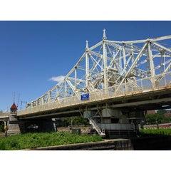 Photo taken at Macombs Dam Bridge by asian on 6/19/2013