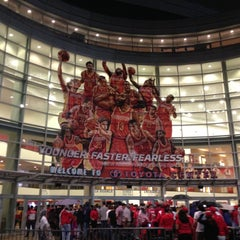 Photo taken at Toyota Center by Tan N. on 4/28/2013