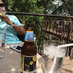 Photo taken at Gruene River Grill by Tan N. on 7/4/2015